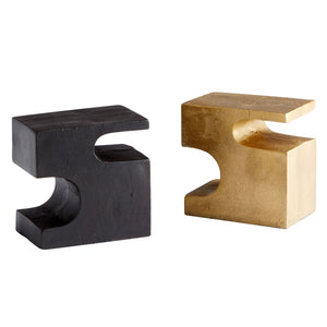 Cyan Design Two-Piece Bookend Set