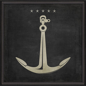 Anchor 2 Framed Print