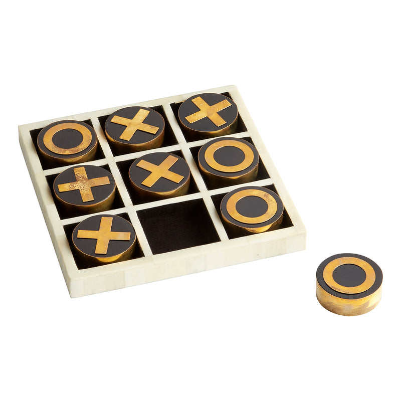 Cyan Design Noughts & Crosses Decorative Game