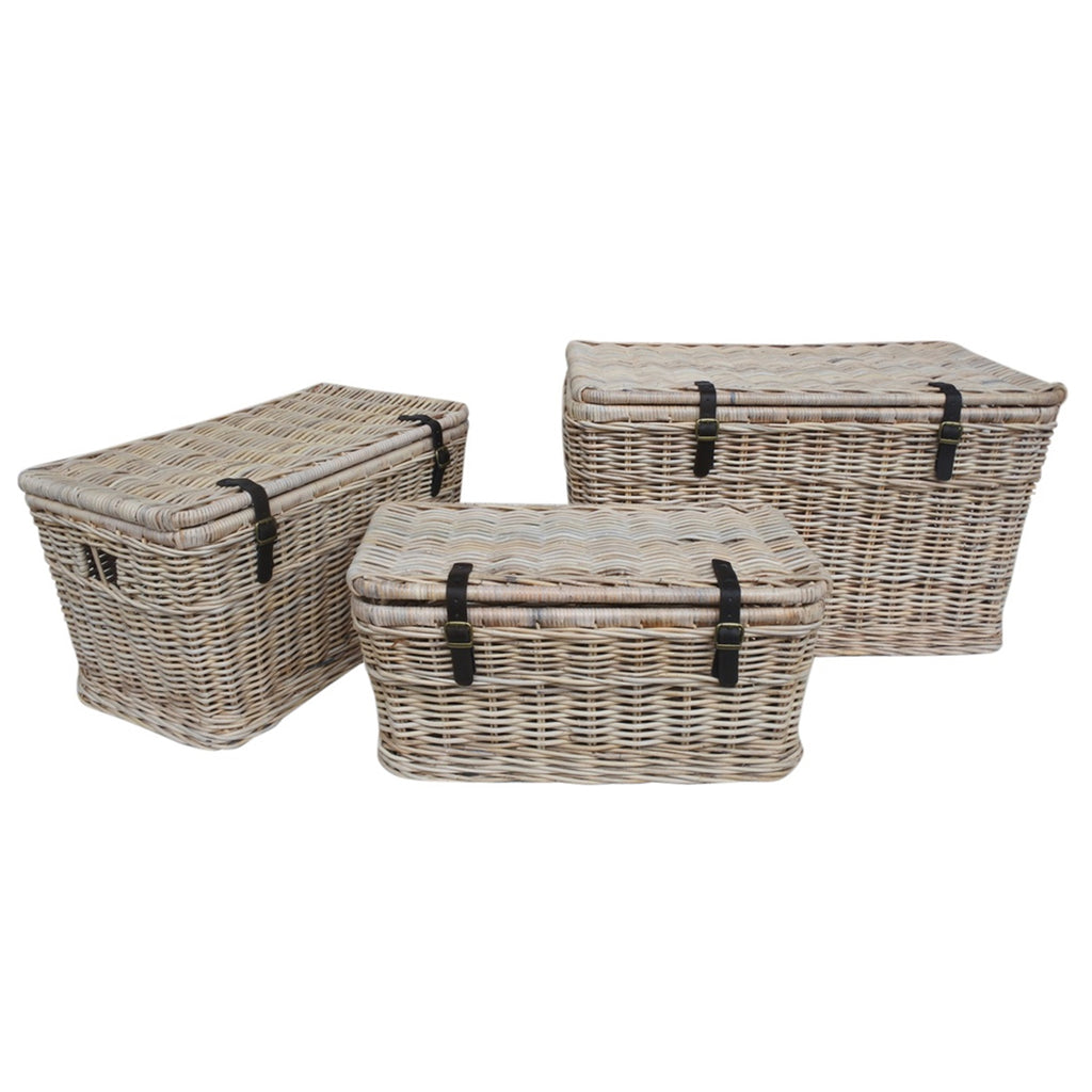 Cambridge Basket Trunk Set of 3