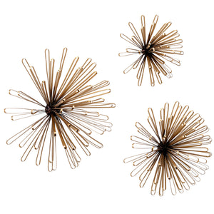 Asterisk Wall Decor Set of 3