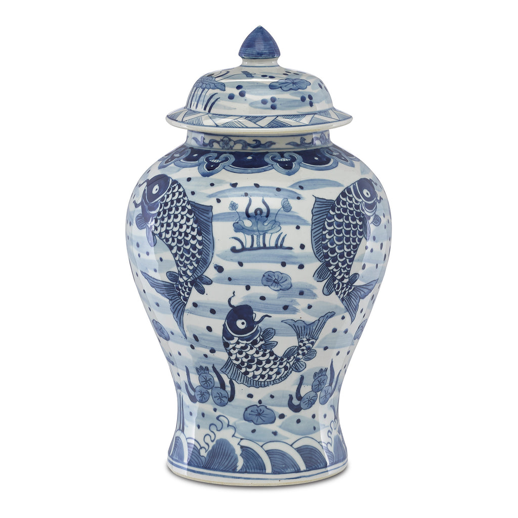 Currey & Co Ming Temple Jar