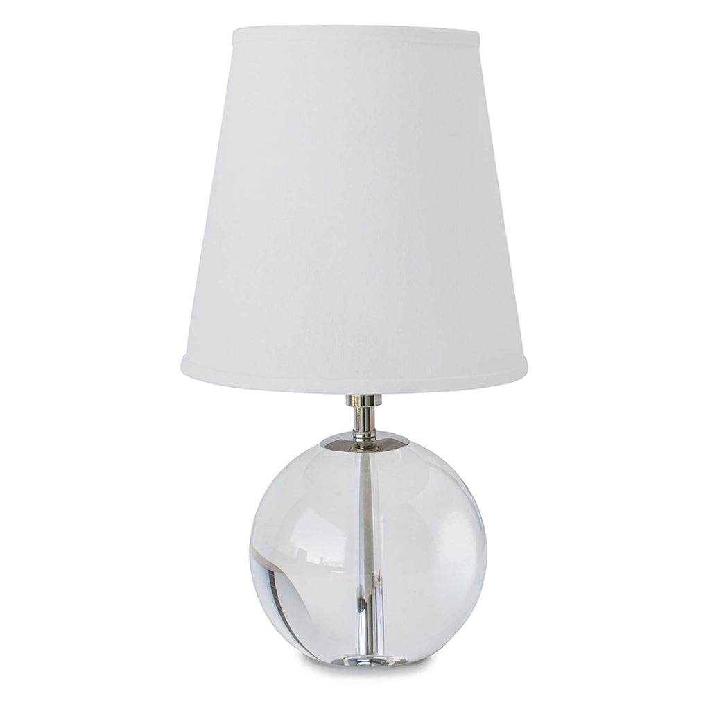 Regina Andrew Crystal Sphere Mini Table Lamp