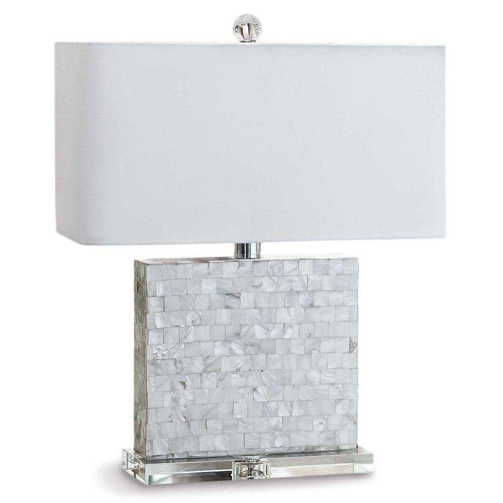 Regina Andrew Bliss Mother of Pearl Table Lamp