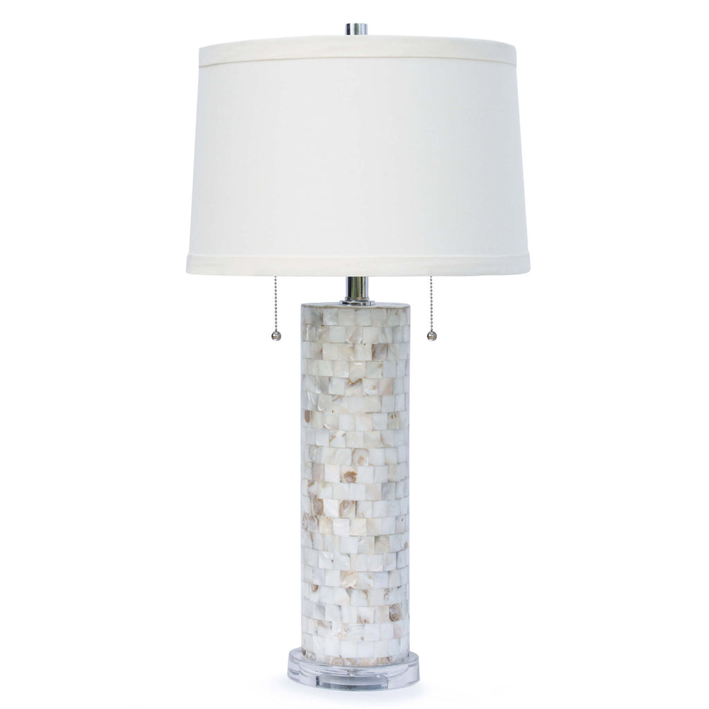 Regina Andrew Deva Mother of Pearl Table Lamp