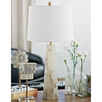 Regina Andrew Quatrefoil Alabaster Table Lamp