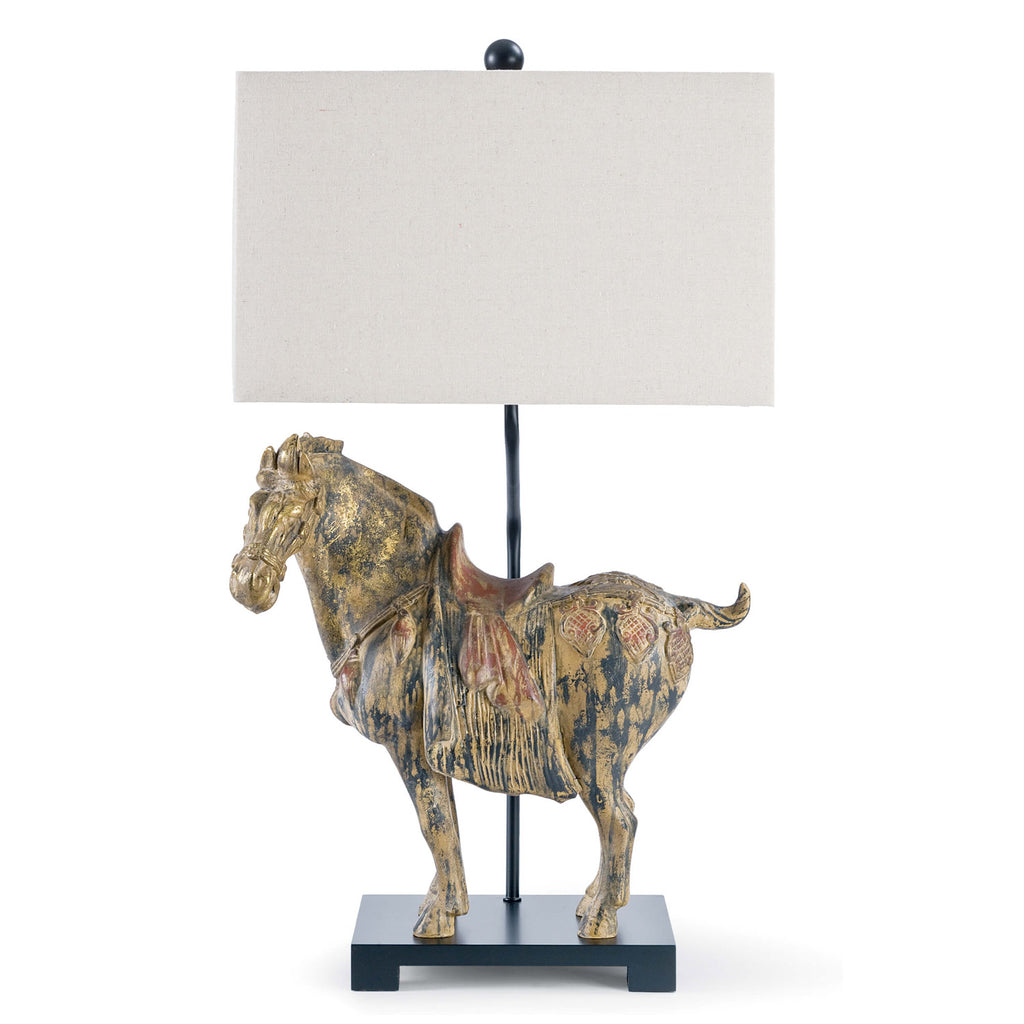 Regina Andrew Dynasty Horse Table Lamp Set of 2