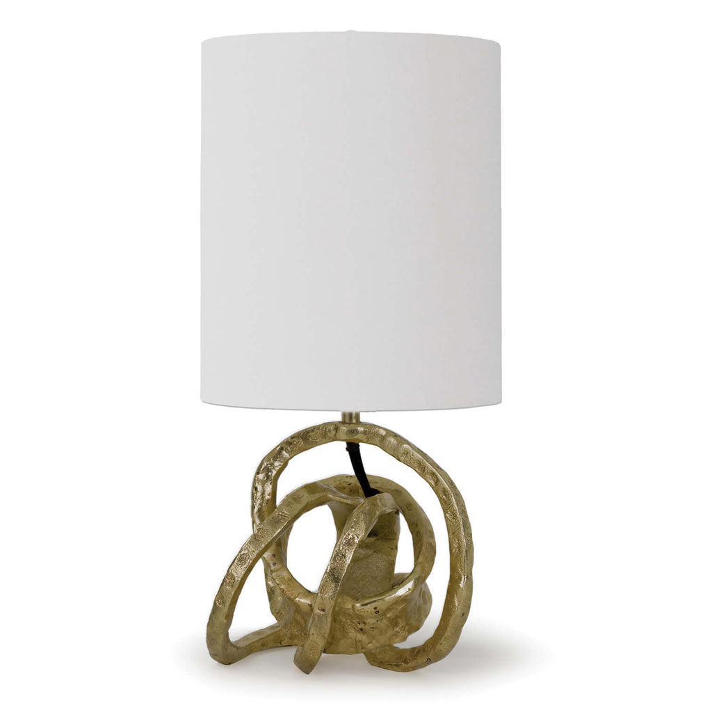 Regina Andrew Knot Soft Gold Mini Table Lamp
