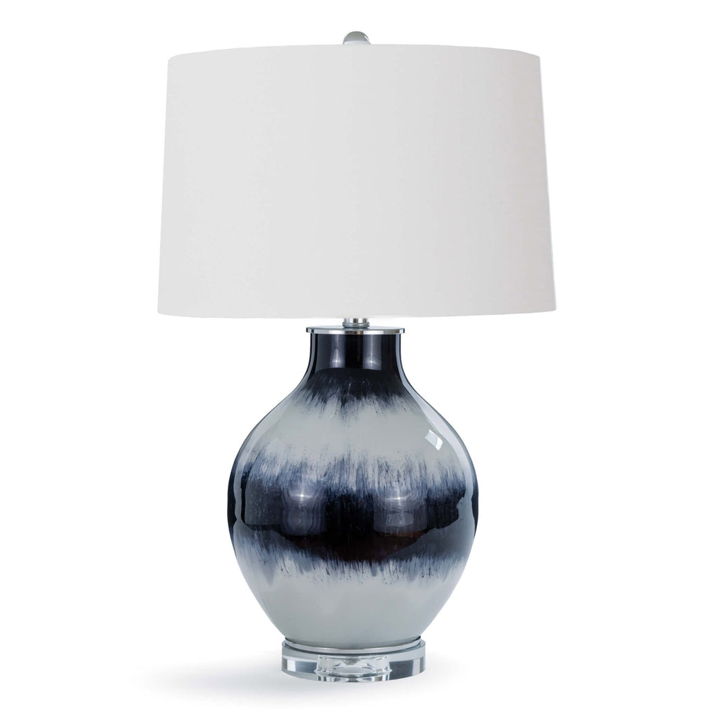 Regina Andrew Indigo Glass Table Lamp