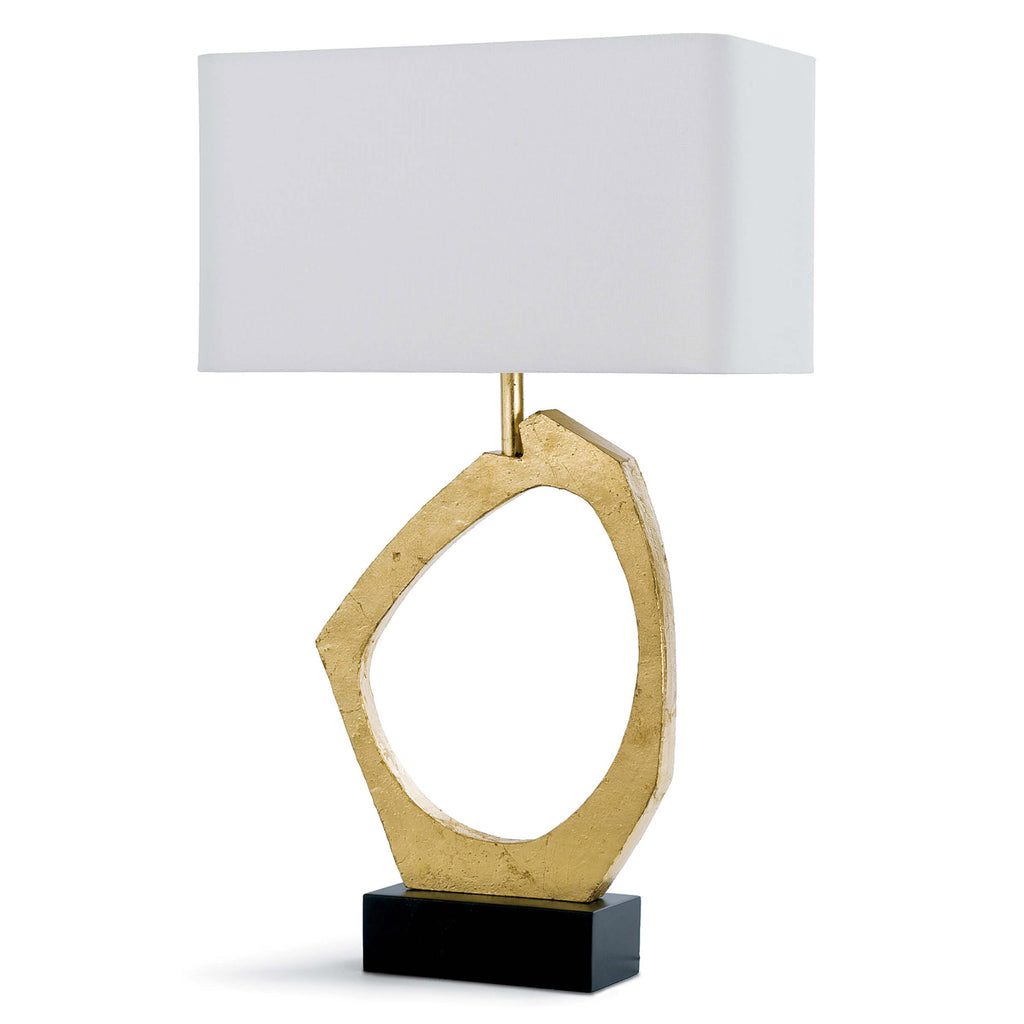 Regina Andrew Manhattan Gold Leaf Table Lamp