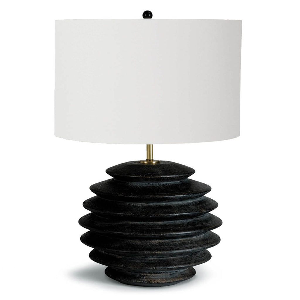 Regina Andrew Accordion Round Table Lamp
