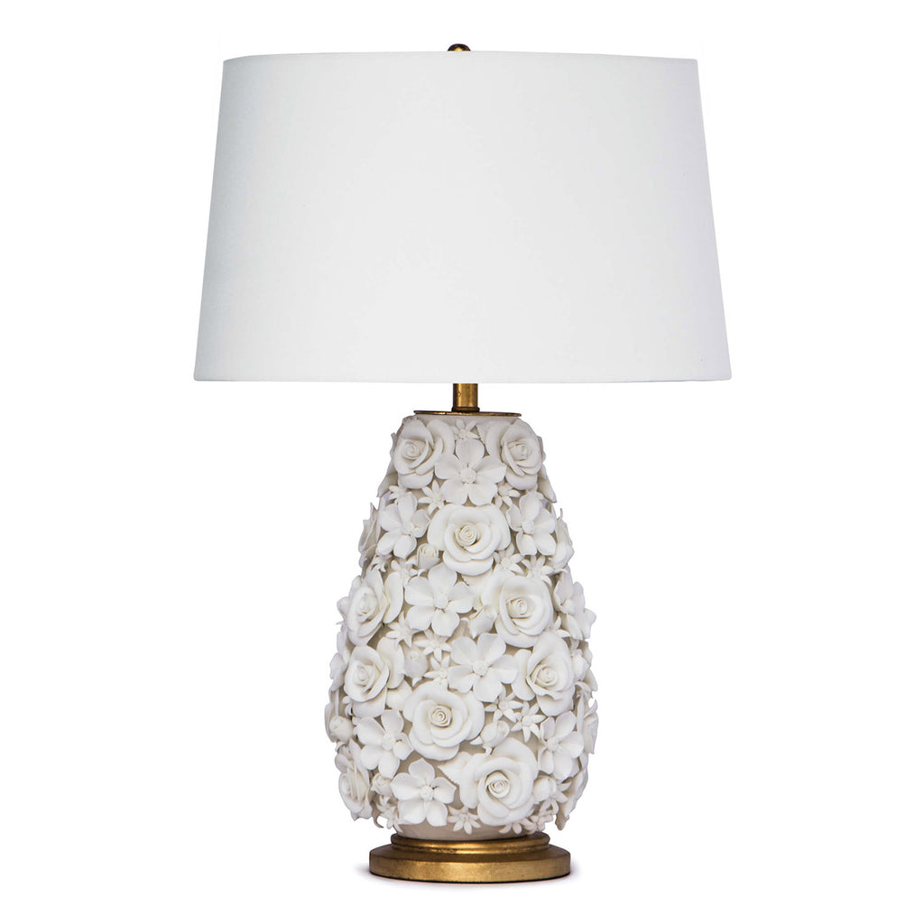 Regina Andrew Alice Flower Porcelain Table Lamp