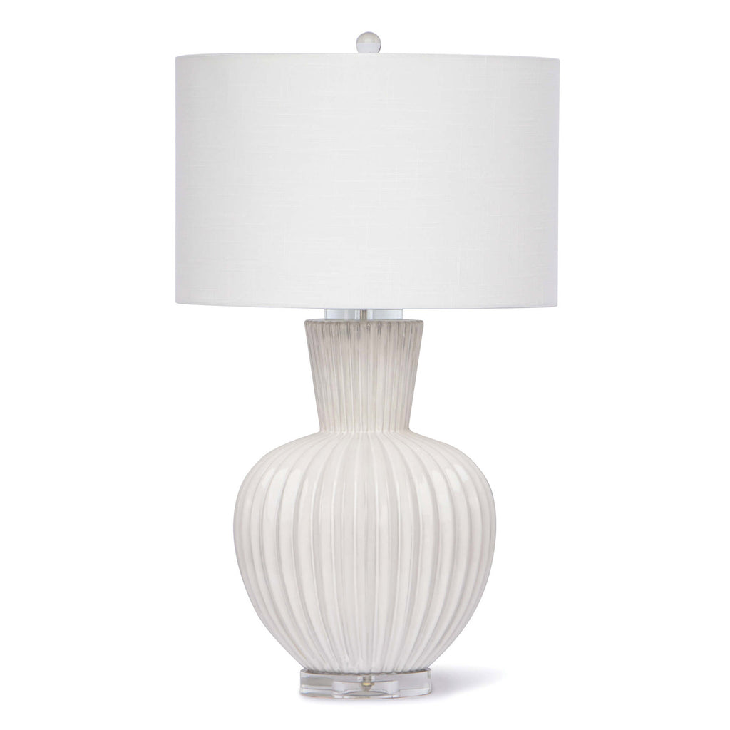 Regina Andrew Madrid White Table Lamp