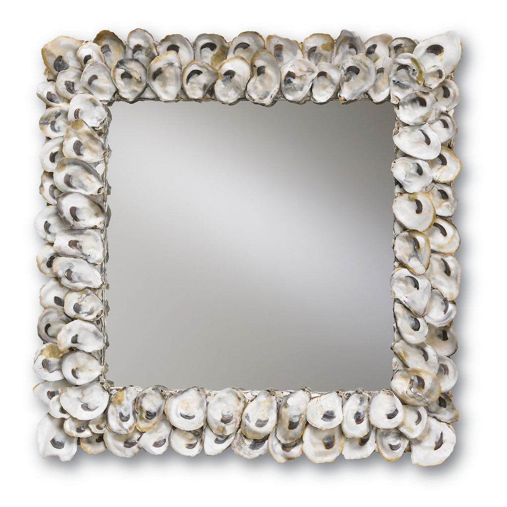 Currey & Co Oyster Shell Wall Mirror