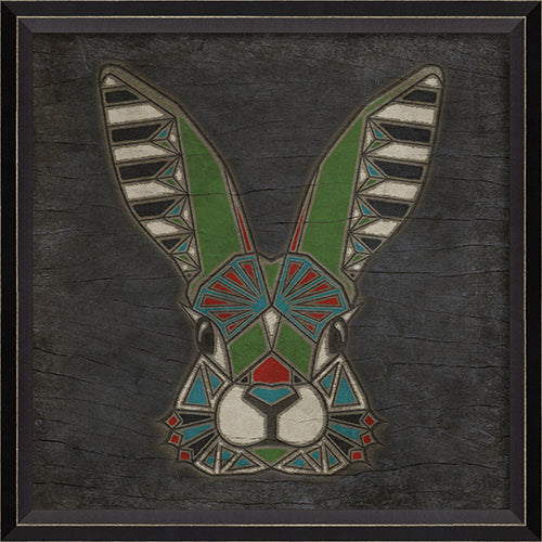 Rabbit Totem Framed Print