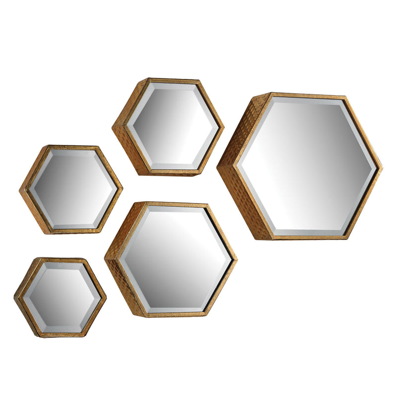 Alchemy Wall Mirror Set of 5