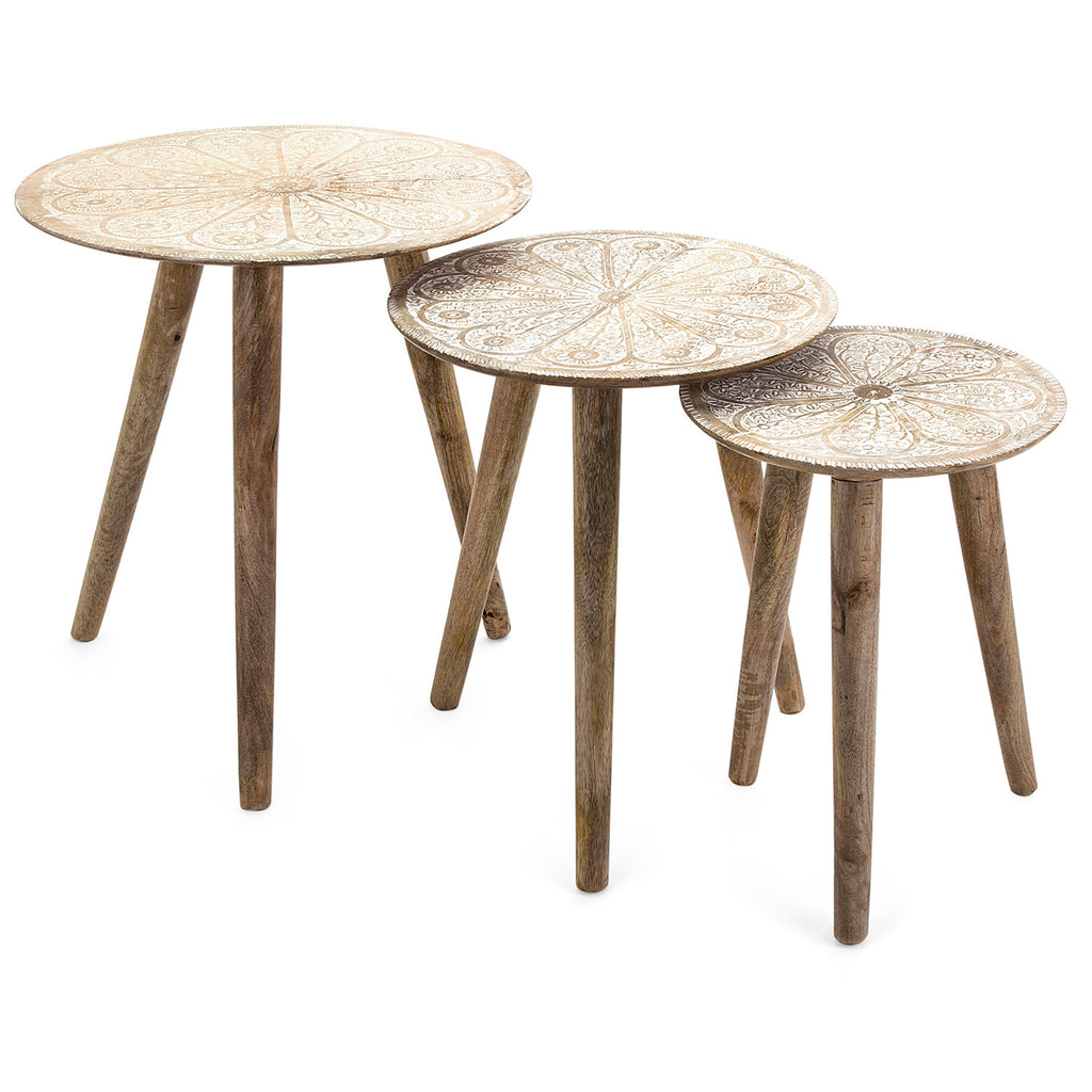 Carolina Side Table Set of 3
