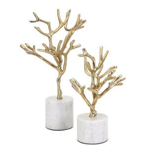 Eve Tree Accent Set of 2