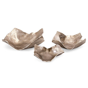 Danica Decorative Wavy Tray Set of 3