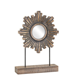 Ilsa Sunburst Tabletop Mirror