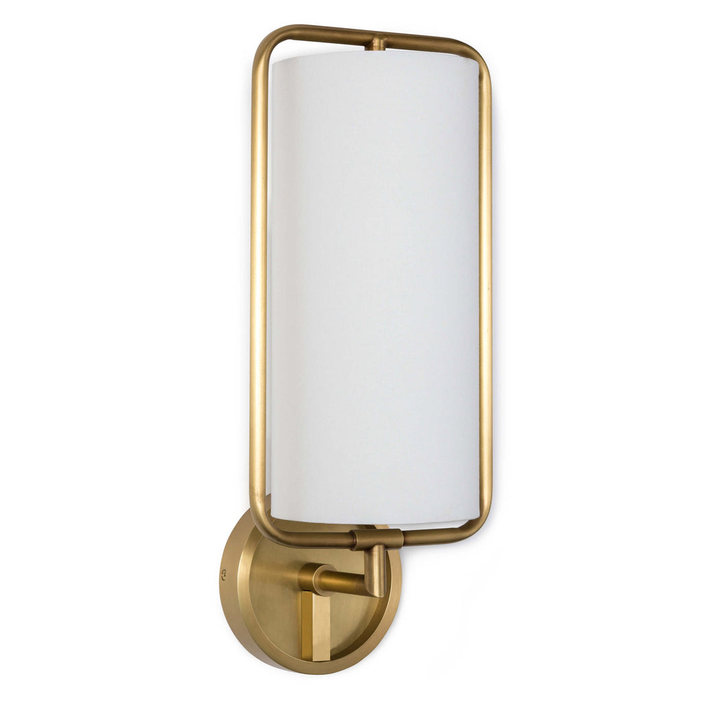Regina Andrew Geo Rectangle Wall Sconce