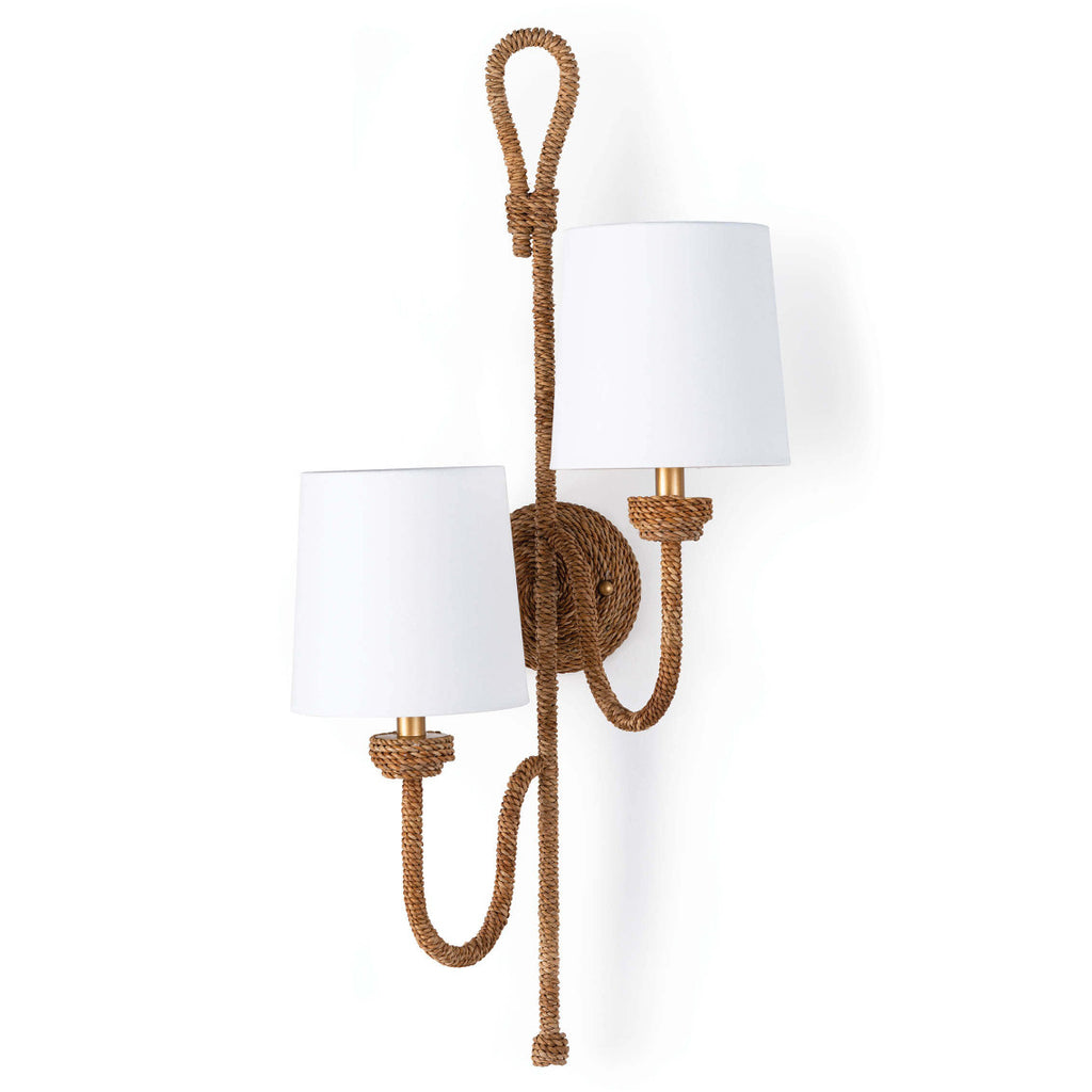 Regina Andrew x Coastal Living Bimini Double Wall Sconce