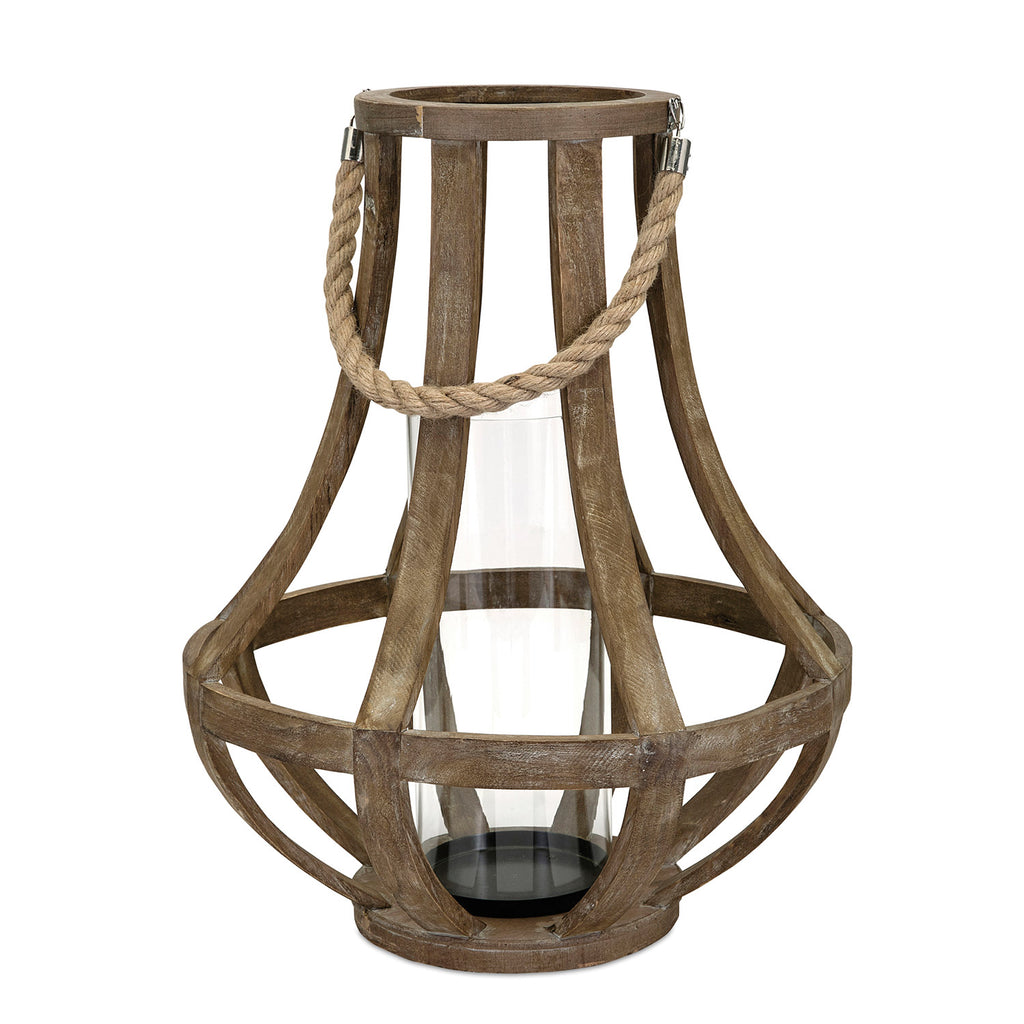 Bailey Wood Lantern