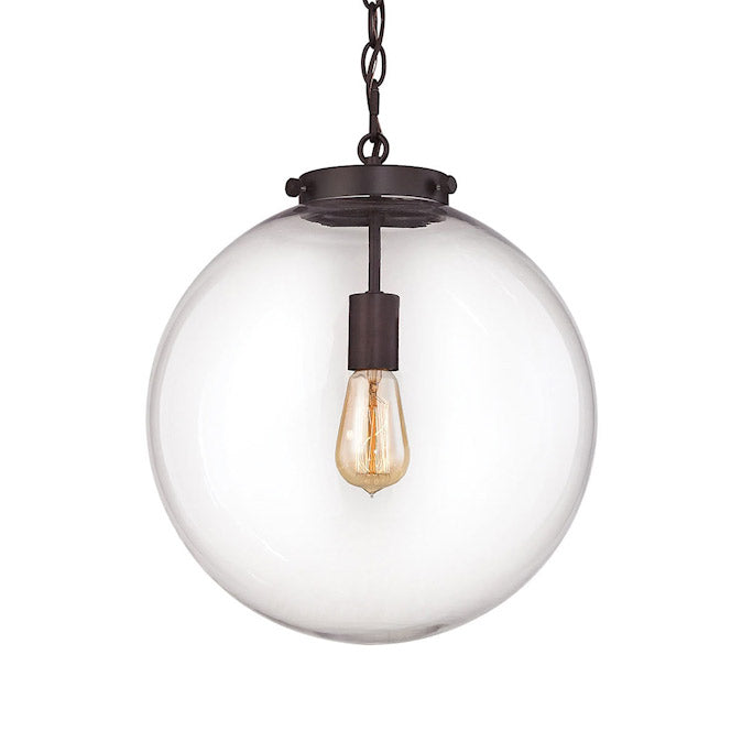 Lavoie Clear Glass Pendant
