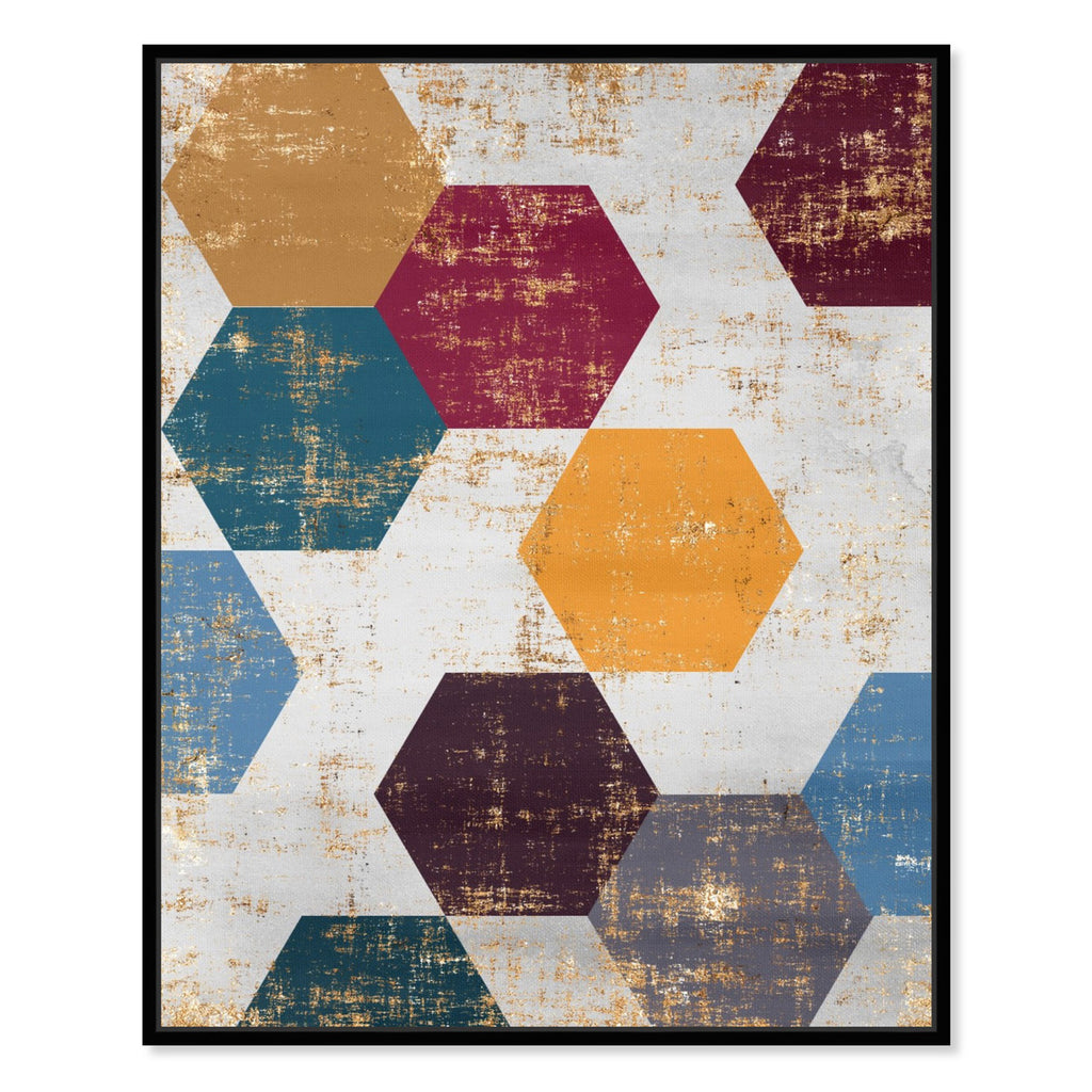 Hatcher & Ethan Queen Bee Framed Canvas Wall Art