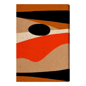 Oliver Gal Dunes Canvas Wall Art