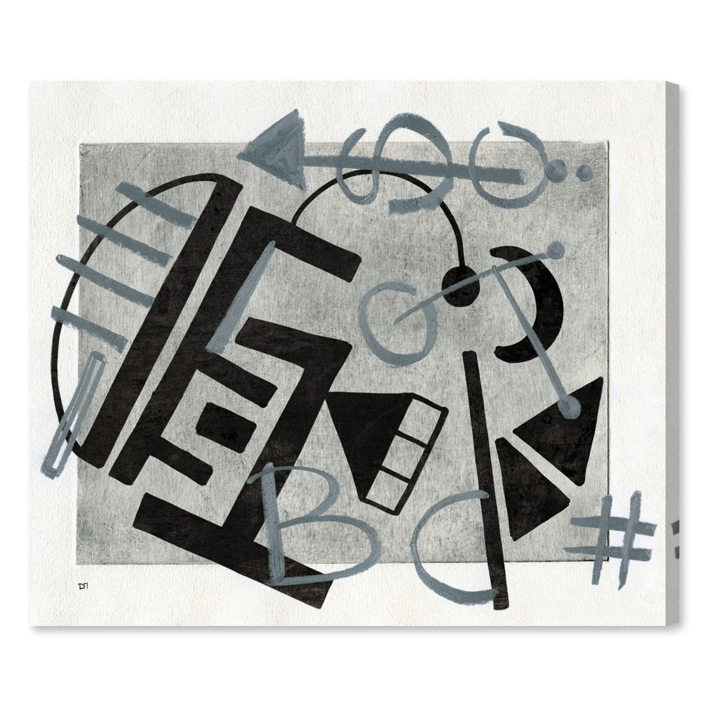 Oliver Gal EBD Canvas Wall Art
