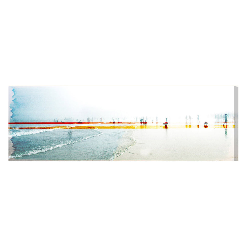Oliver Gal Sand On Your Toes Canvas Wall Art