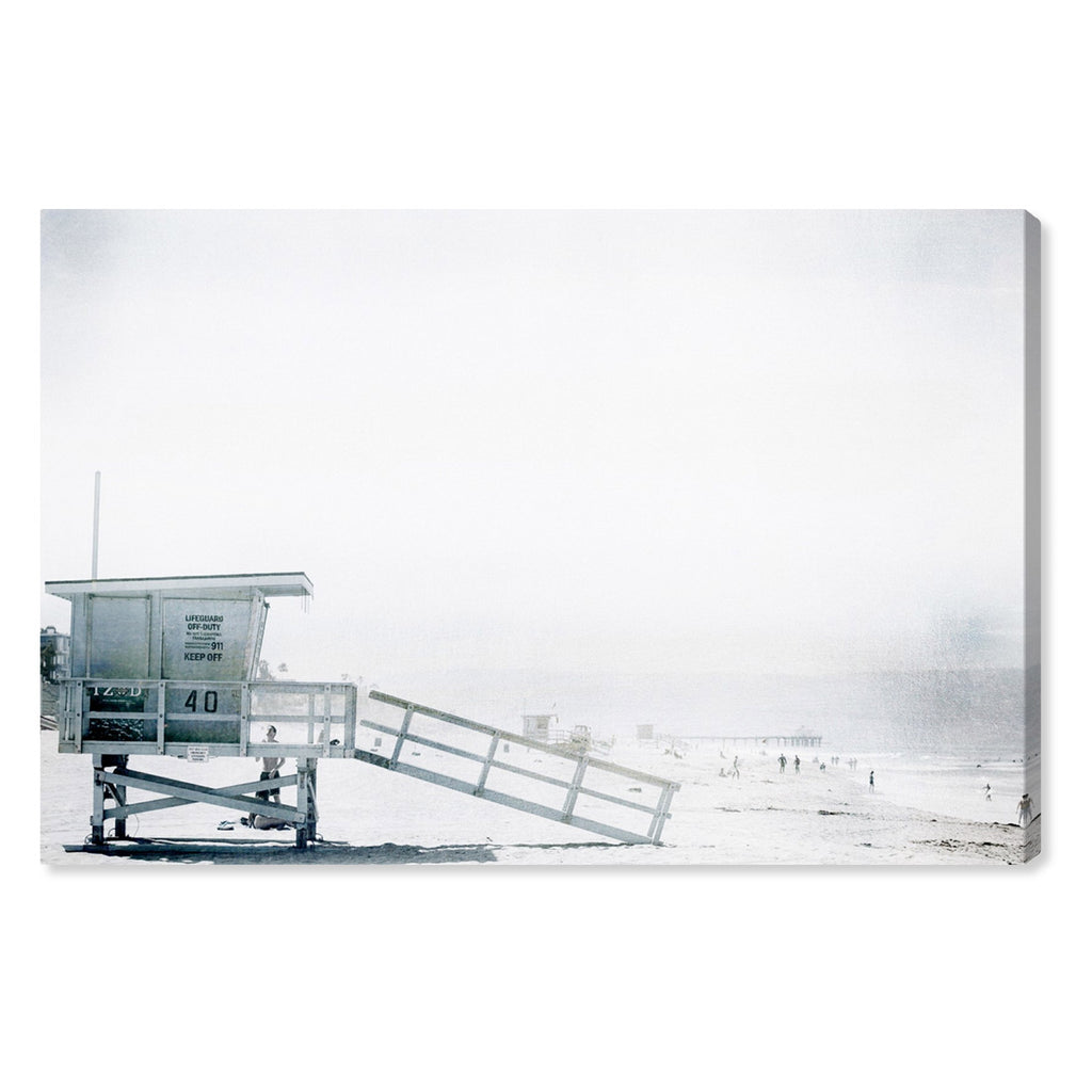 Oliver Gal Beach in Bohemia Canvas Wall Art