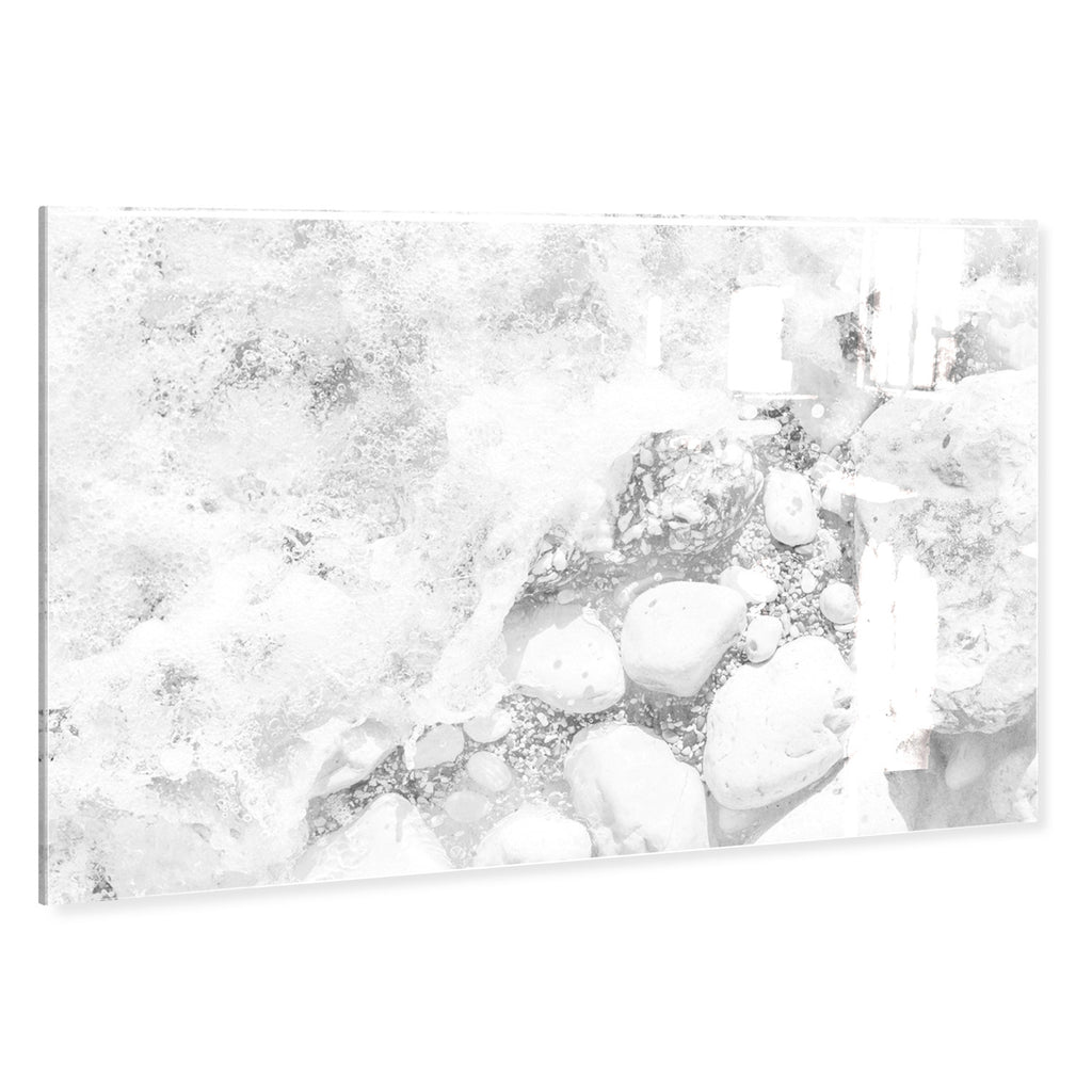 Oliver Gal Rocks On The Beach Acrylic Wall Art