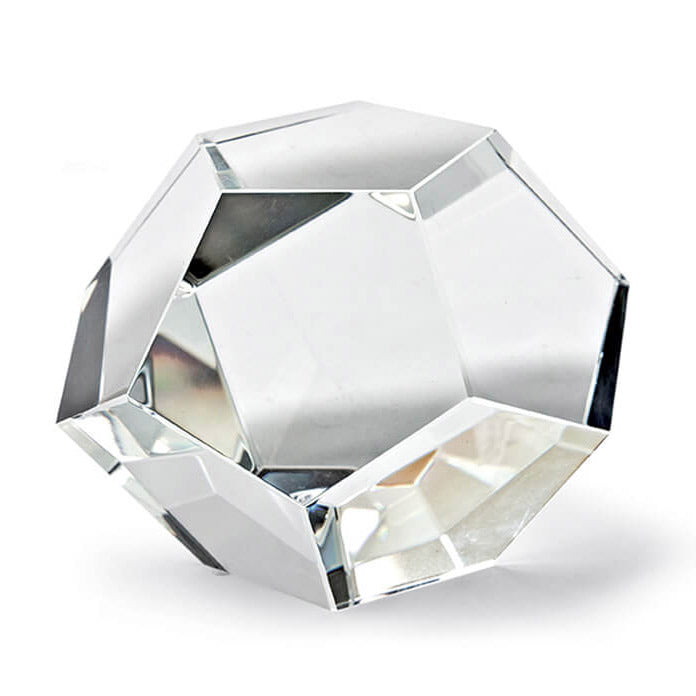 Regina Andrew Crystal Dodecahedron Decorative Object