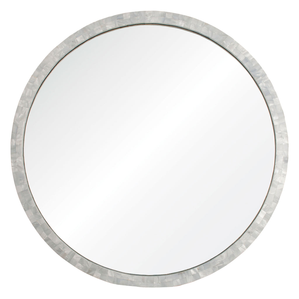 Mirror Image Home Canyon Lake Mother of Pearl Wall Mirror