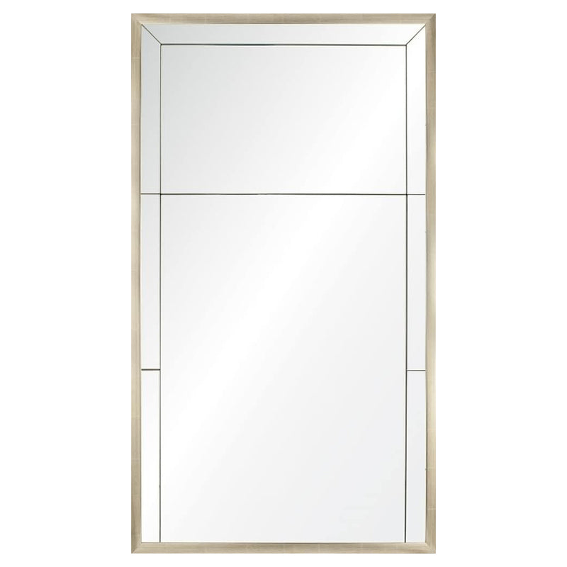 Mirror Image Home Champagne Panel II Wall Mirror