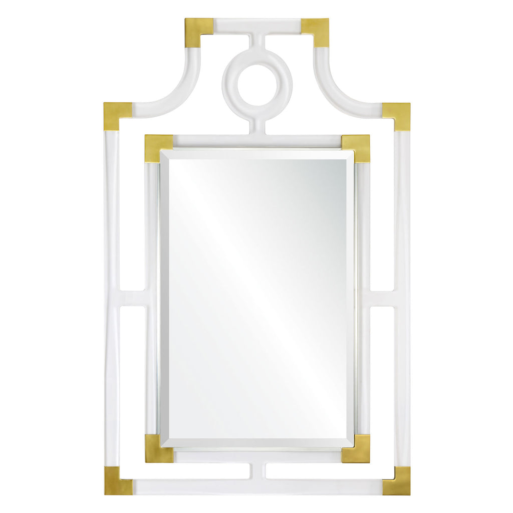 Mirror Image Home Pagoda Acrylic Wall Mirror