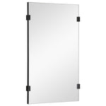 Mirror Image Home Clip Rectangle Wall Mirror
