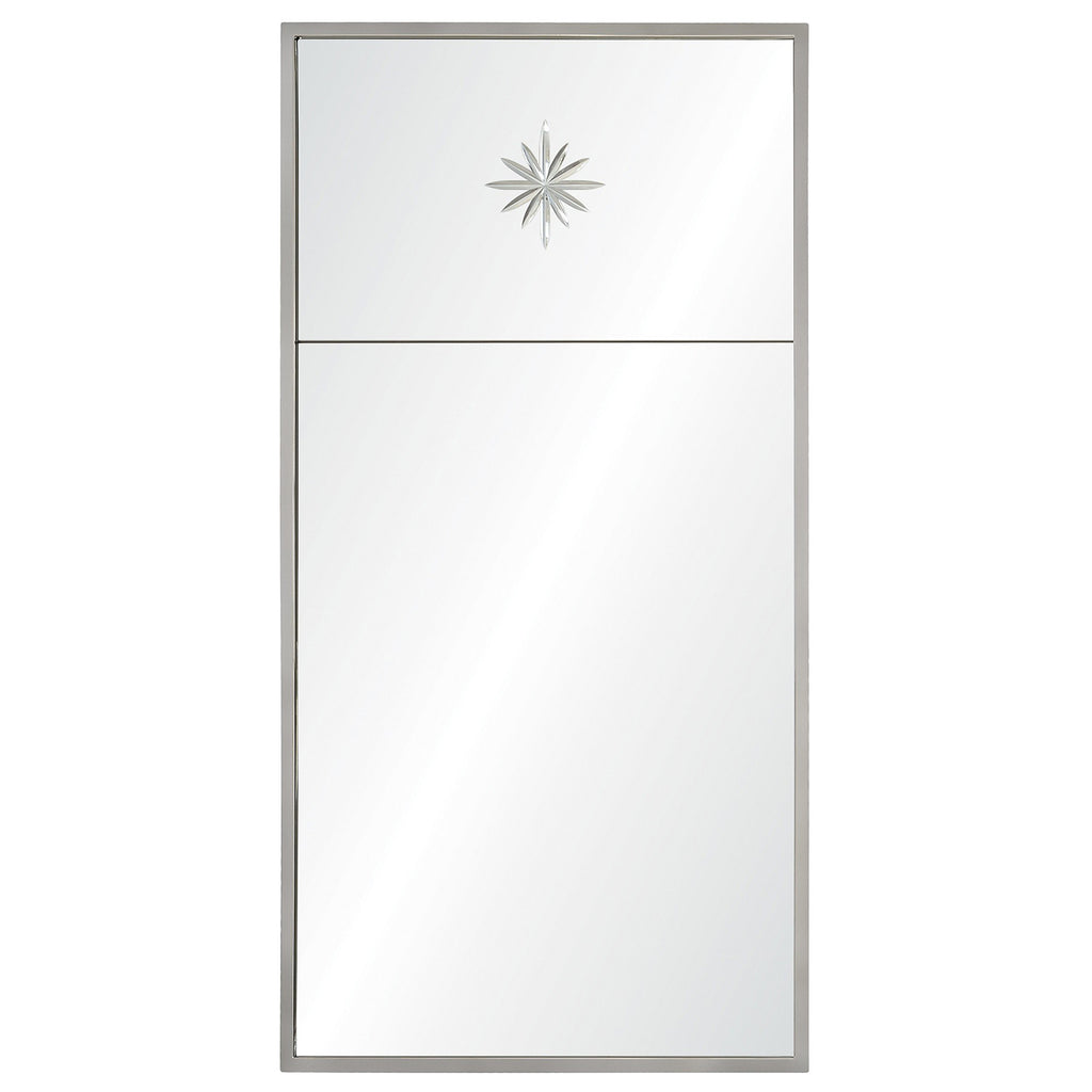 Mirror Image Home Star Trumeau Wall Mirror
