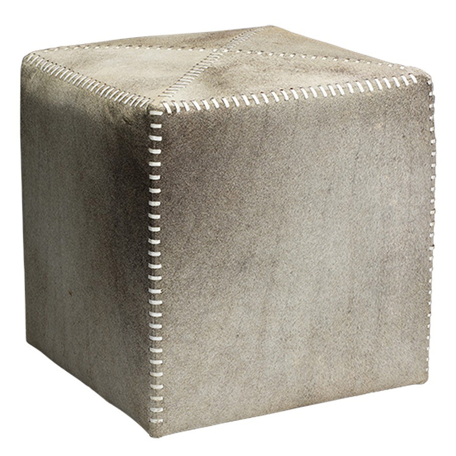 Jamie Young Hide Ottoman
