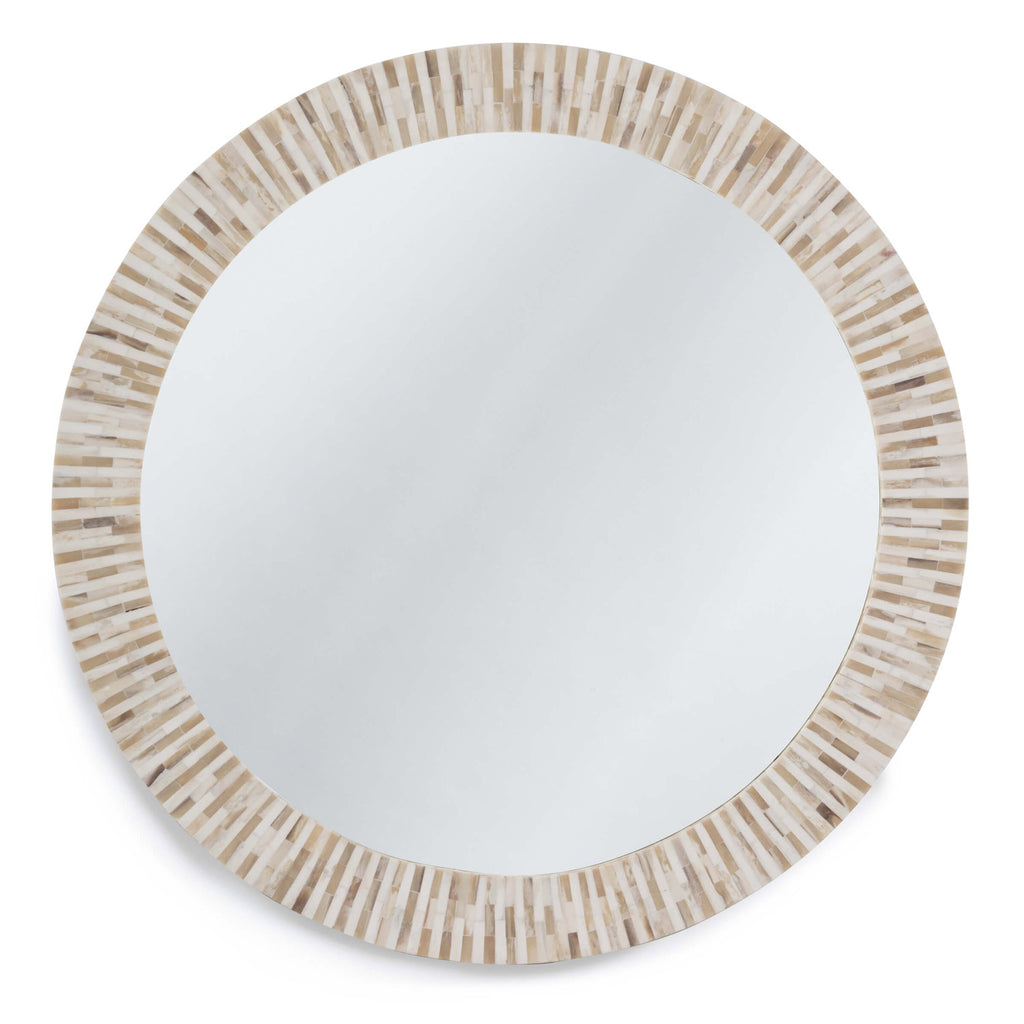 Regina Andrew Multitone Bone Wall Mirror