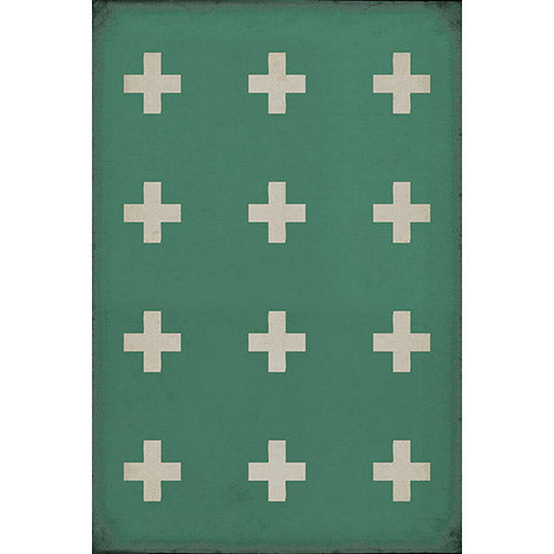 Paulette Vinyl Floorcloth