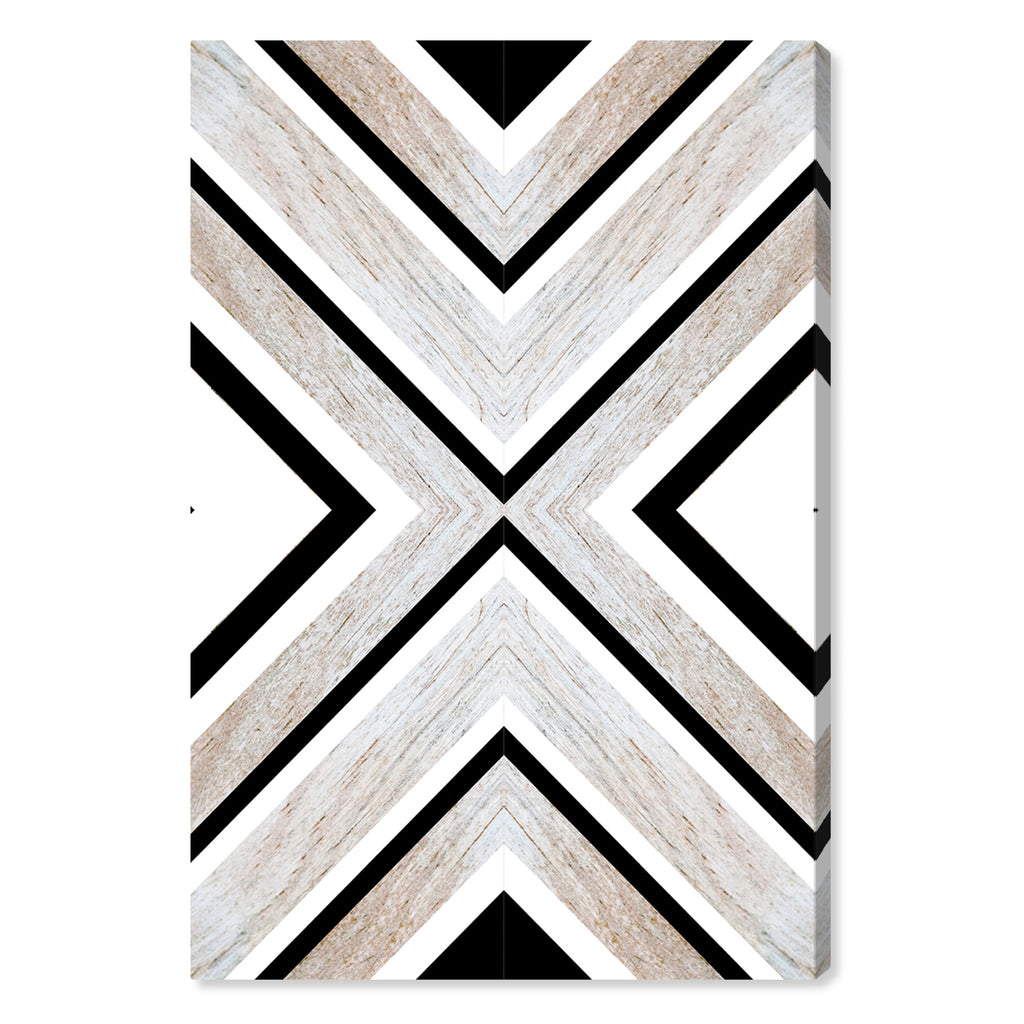 Oliver Gal Earthy Wood Canvas Wall Art