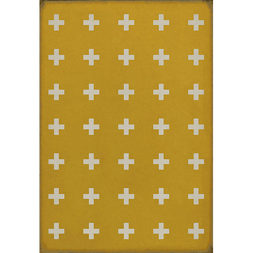 Corinne Vinyl Floorcloth
