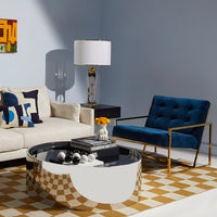 Jonathan Adler Goldfinger Lounge Chair