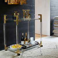 Jonathan Adler Jacques Bar Cart