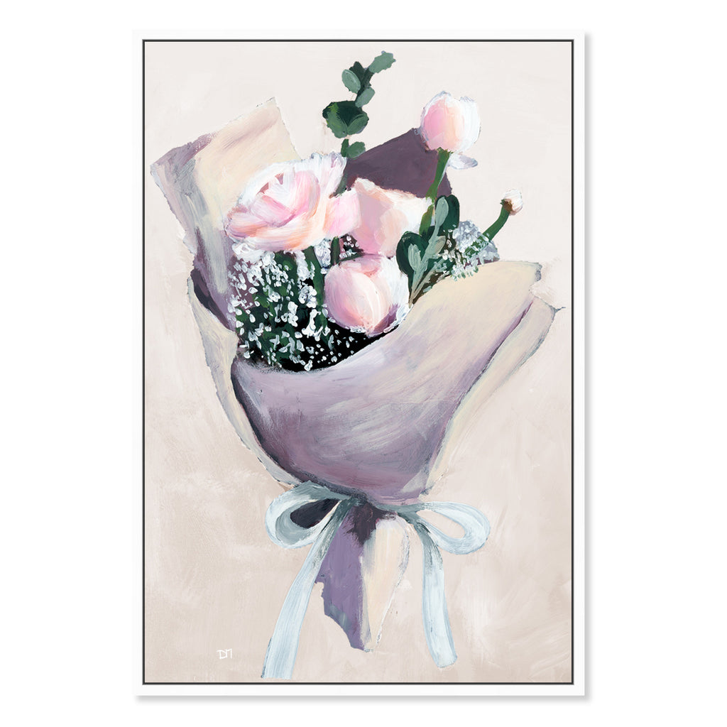 Oliver Gal Precious Finds Simple Framed Canvas Wall Art