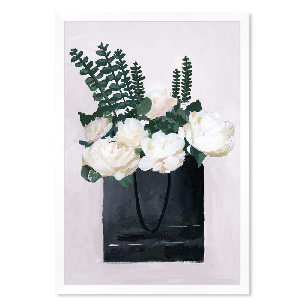 Oliver Gal Precious Finds Simple Framed Wall Art