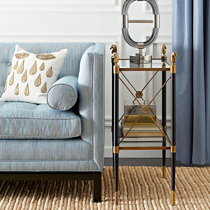 Jonathan Adler Rider Two-Tier Side Table